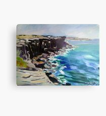 Cliffs Metal Print