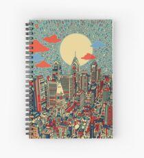 philadelphia panorama 3 Spiral Notebook