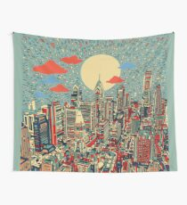 philadelphia panorama 3 Wall Tapestry