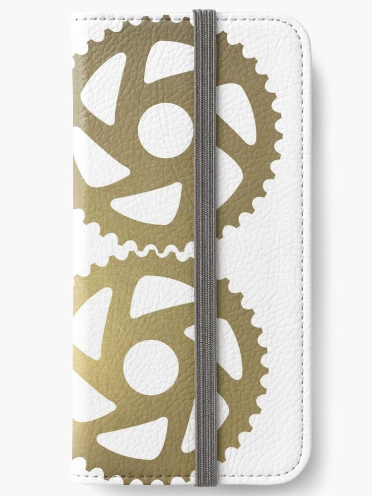 Goldenes Zahnrad-Trio von Designs111