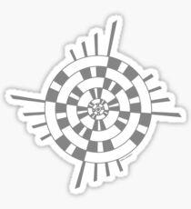 Mandala 1 Charcoal Sticker