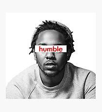 Kendrick Lamar Humble Photographic Print