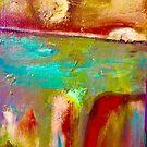Landfill. Abstract painting  by abstractbYmina