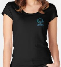 Squared Stratis Logo Women's Fitted Scoop T-Shirt