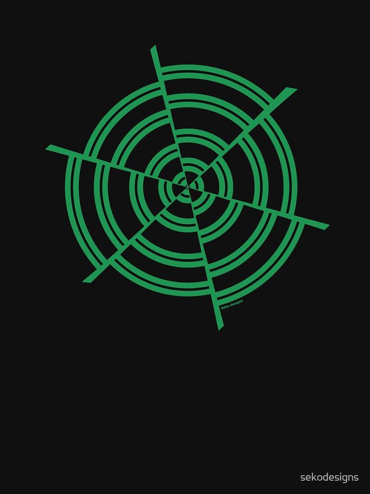 Mandala 2 Green With Envy  by sekodesigns
