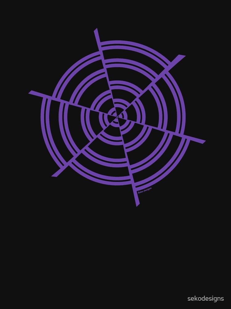 Mandala 2 Purple Haze  by sekodesigns