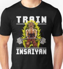 TRAIN INSAIYAN - Goku Deadlift T-Shirt