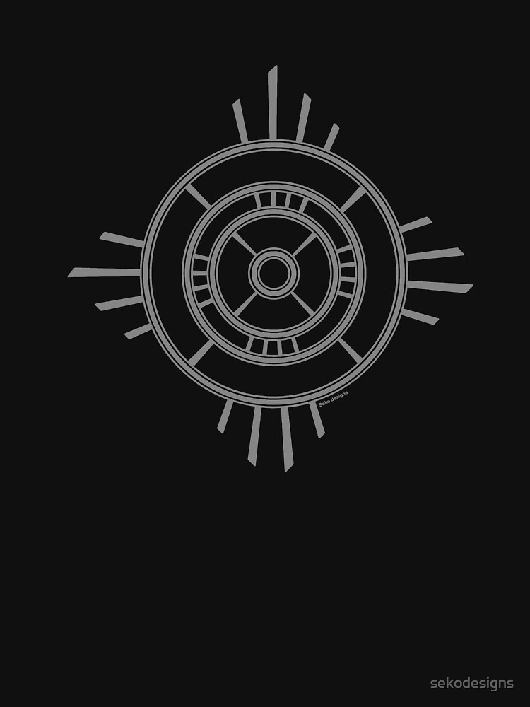 Mandala 4 Charcoal  by sekodesigns
