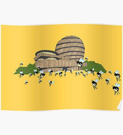 guggen hives Poster