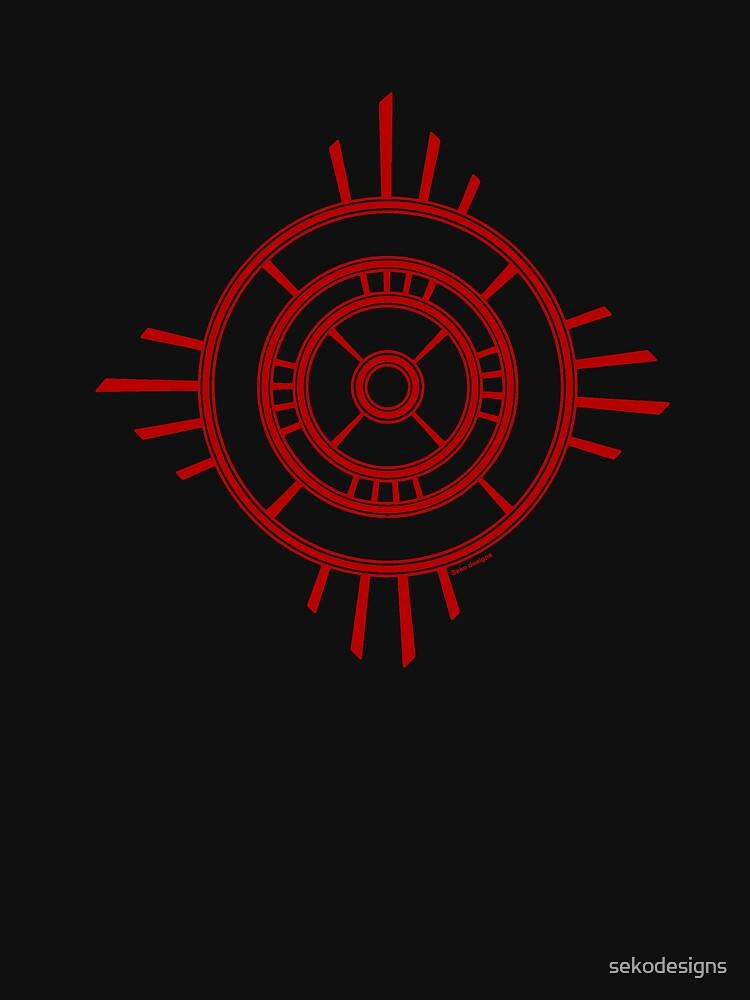 Mandala 4 Colour Me Red by sekodesigns