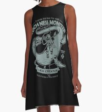 Lochness Monster - Cryptids Club Fall # 200 A-Linien Kleid