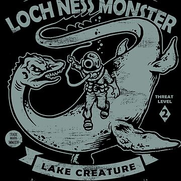 Lochness Monster - Cryptids Club Fall # 200 von HeartattackJack
