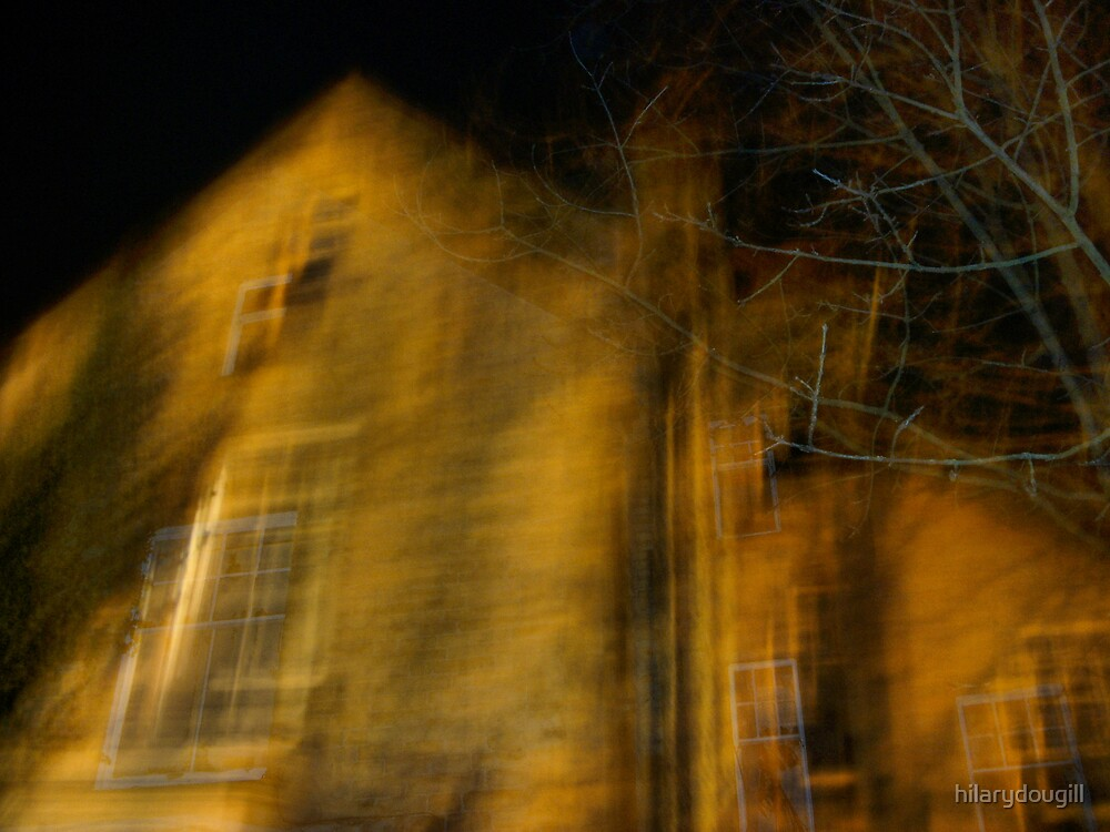 My Ghostly house by hilarydougill