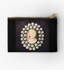 Classic Vintage Cameo - Art Photo  Studio Pouch