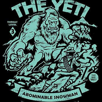 Der Yeti - Cryptids Club Fall # 102 von HeartattackJack