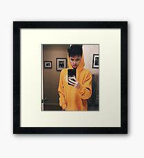 geeky jacob Framed Print