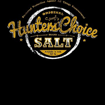Hunters' Choice Brand Salt by HeartattackJack