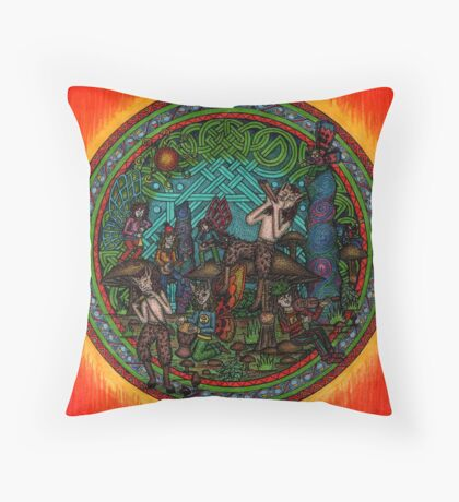 lammas Throw Pillow