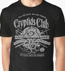 Cryptids Club (Dark Shirt Version) Graphic T-Shirt