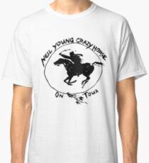 TOUR NEIL YOUNG CRAZY HORSE TELUR Classic T-Shirt