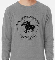 TOUR NEIL YOUNG CRAZY PFERD TELUR Leichtes Sweatshirt
