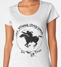 TOUR NEIL YOUNG CRAZY HORSE TELUR Women's Premium T-Shirt