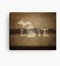 Love in Michigan Canvas Print