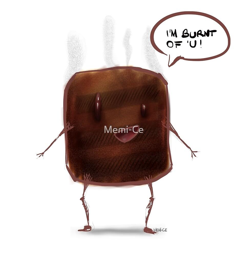 Mr. Toast in love by Memi-Ce