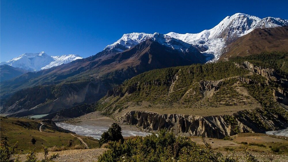 The Annapurna Mastif, Nepal by journeysincolor