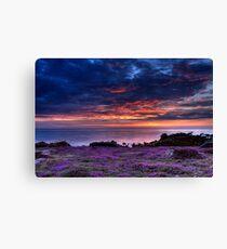 St Ouen Sunset Canvas Print