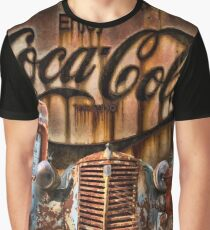 OLD VINTAGE RUSTY CAR Graphic T-Shirt