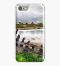 Abandoned boat, Saltmills, Co. Wexford, Ireland iPhone Case/Skin