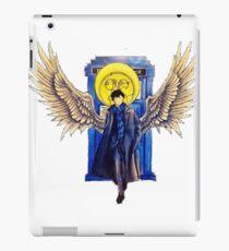 The Superwholock time-travel Detective iPad Case/Skin