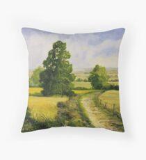 Sussex weald Throw Pillow