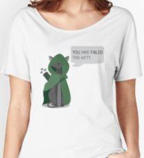 Arrow, the vigilante cat Women's Relaxed Fit T-Shirt