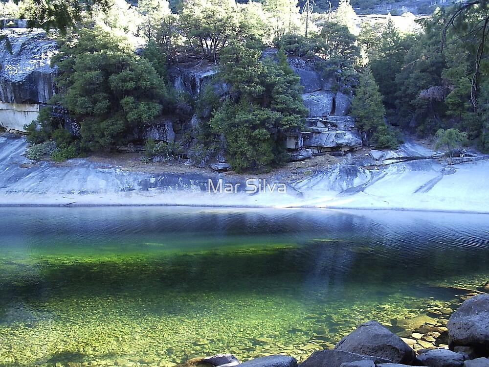 Emerald Lake by Mar Silva