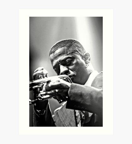 Jazz Messengers 03 Art Print