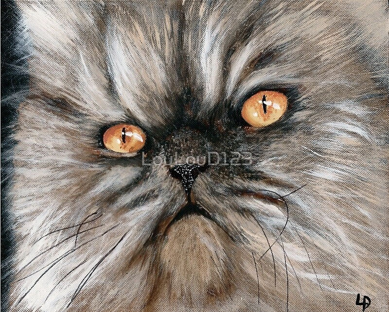 PERFECT PERSIAN CAT by LouLouD123