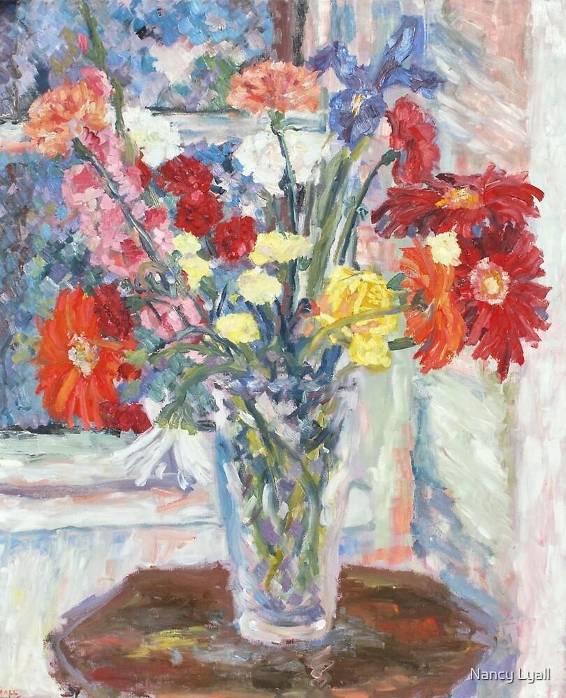 """Floral Still Life"" by Nancy Lyall"