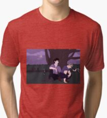 johnlock in an apocalypse Tri-blend T-Shirt
