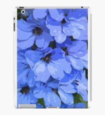 Lupins are Blue iPad Case/Skin