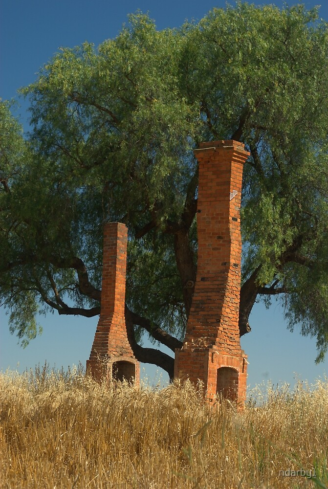 Chimneys from yesteryear by ndarby1