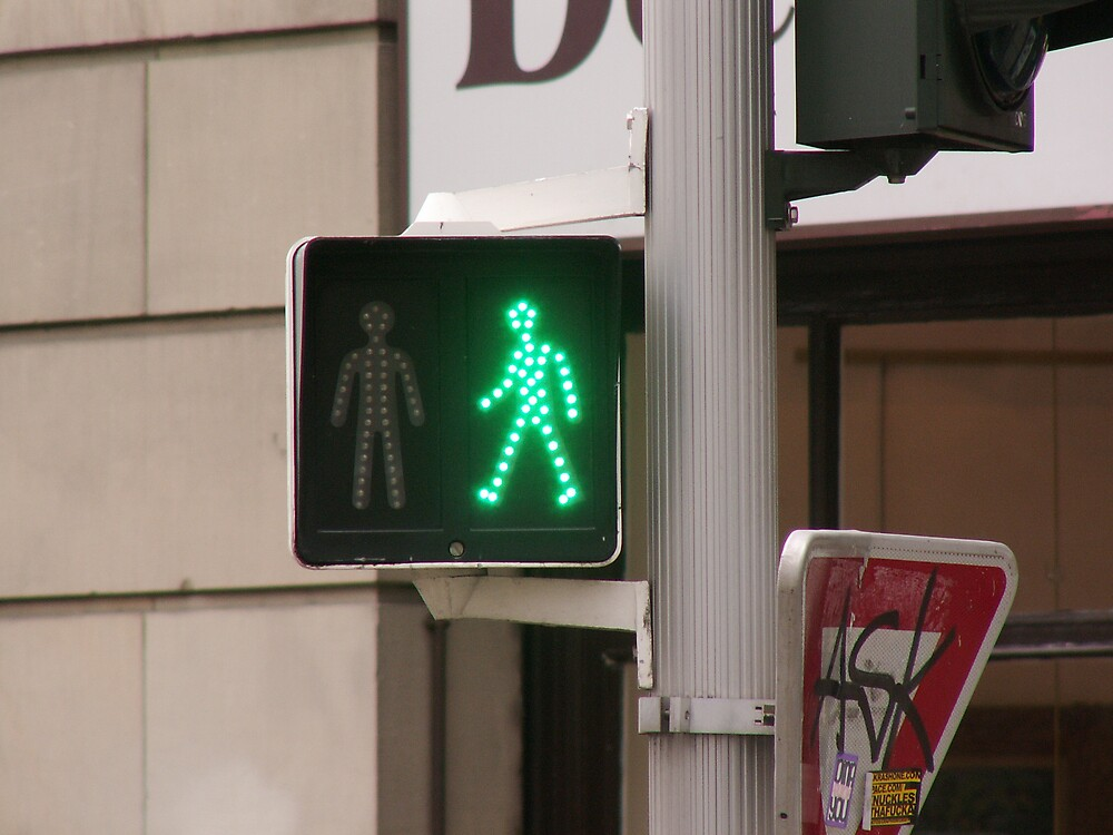 Urban Green light by brikhat