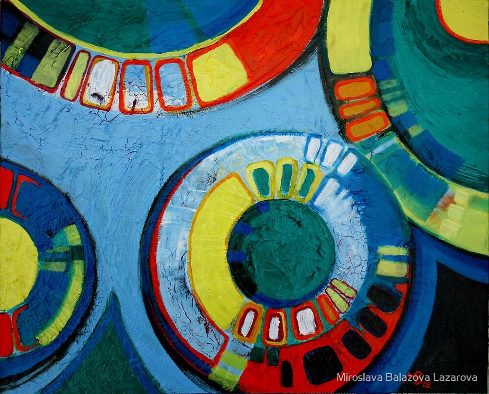 Painting by Miroslava Balazova Lazarova