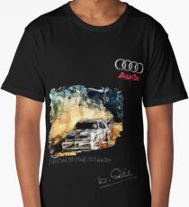 Audi S1 Quattro Long T-Shirt