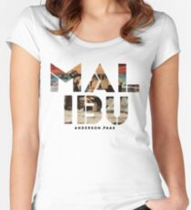 Anderson .Paak - Malibu Women's Fitted Scoop T-Shirt