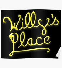 Willy's Place Poster