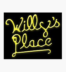 Willy's Place Photographic Print