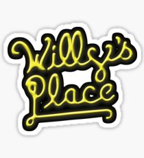 Willy's Place Sticker