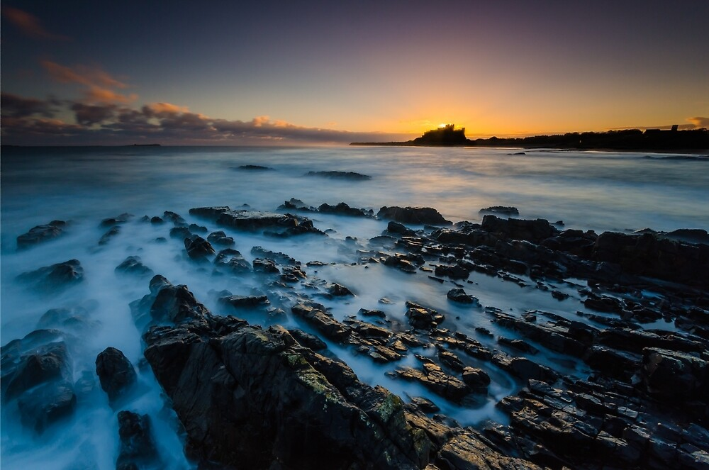 The Sunrise Behind The Castle by russellcram